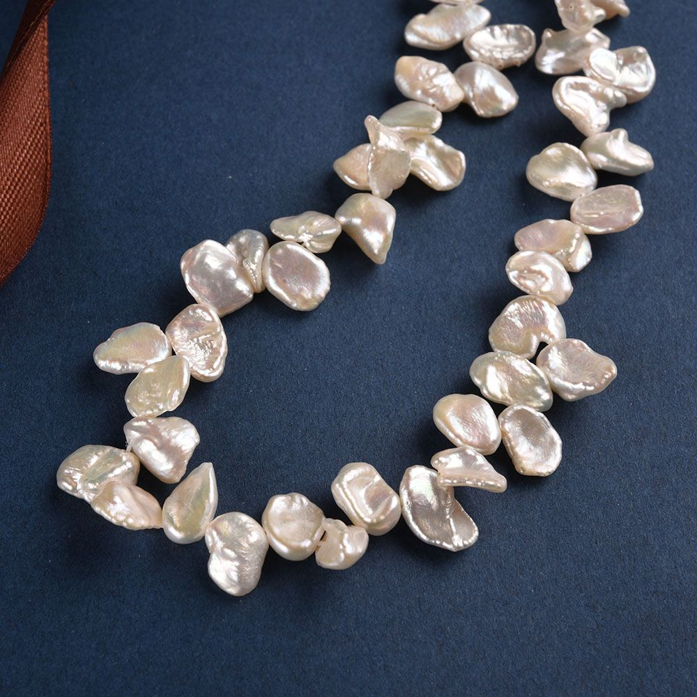 AAA 10-11mm Long White keshi Freshwater Pearl,DIY Loose Freshwater Pearl,wholesale price,Full Strand,ZS-200-20