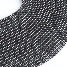 16inch 5-5.5mm AA+ Grade Black Akoya Pearls Strands Wholesale