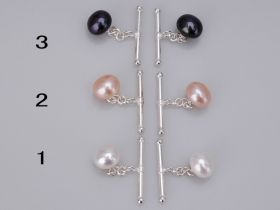 10-10.5mm Pearl Cufflinks Christmas Gift with Cheap Prices Wholesale