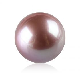 Keepsake 12.3-12.9mm Loose Lavender Round Edison Pearl Non Drilled