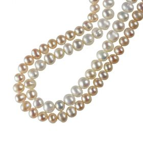 Genuine Natural Freshwater Pearl 5-6mm Loose Beads Strand