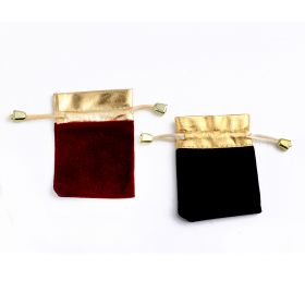 Luxury Velvet Jewelry Bags Christmas/Wedding Gift Bags Cheap Velveteen Drawstring Pouches 100pcs/lot