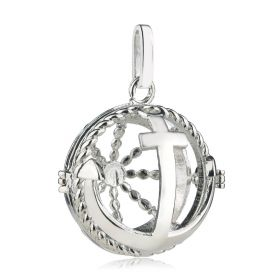 Harmony Chime Ball Pendant Essential Oil Aromatherapy Diffuser Cage Locket Charms