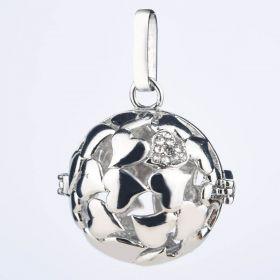 Multi Hearts Design Pendant Cage for Pregnancy's Balls or Lava Stone Beads Oil Diffuser