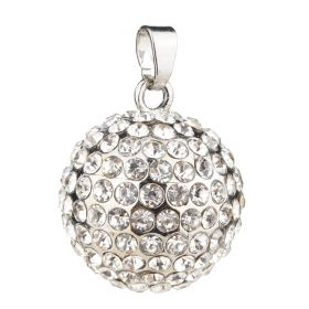 Harmony Angel Caller 23mm Sound Music Bell Pregnancy Rhinestone Ball Pendant Jewelry