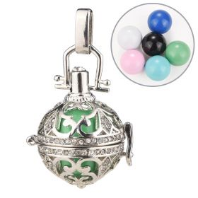 Harmony Ball Angel Caller Hollow Pendant for Pregnant Women Essential Oil Locket Jewelry