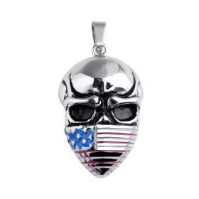 Unique Stainless Steel New Arrival Super Punk Skull Biker Pendant Fashion charm Jewelry