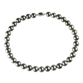 AA Grade 11-13mm Black Tahitian South Sea Pearl Necklace 17 inch