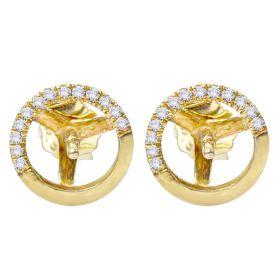 Earrings Mountings 925 Sterling Silver Pearl Earrings Fittings Jewelry Accessories(NOT Include Pearls)