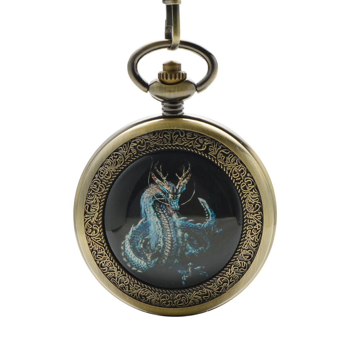 personalized antique mechanical pocket watch