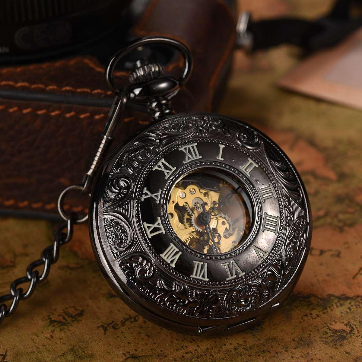 Antique Mechanical Movement Pocket Watch