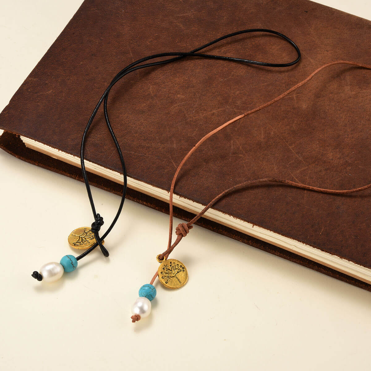 Charm Lariat Style Necklace