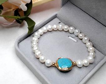 Turquoise Stone Bracelets